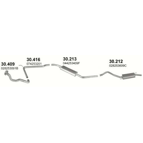 Выхлопная система фольксваген транспортер как прокачать гур на транспортере т4